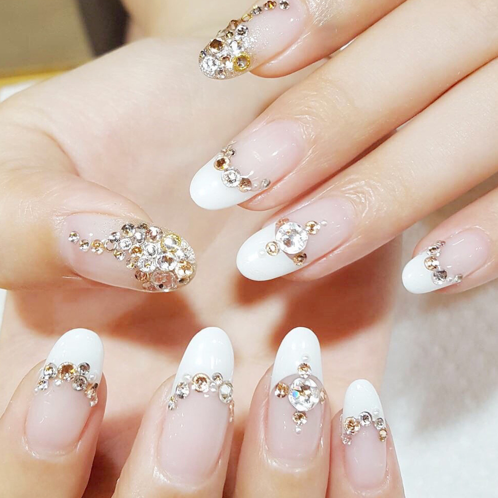Clear glass crystal rhinestones mix sizes nail art stones strass clear glass crystal rhinestones mix sizes nail art stones strass foil back for naill diamonds glitter decoration tips in rhinestones decorations from prinsesfo Image collections