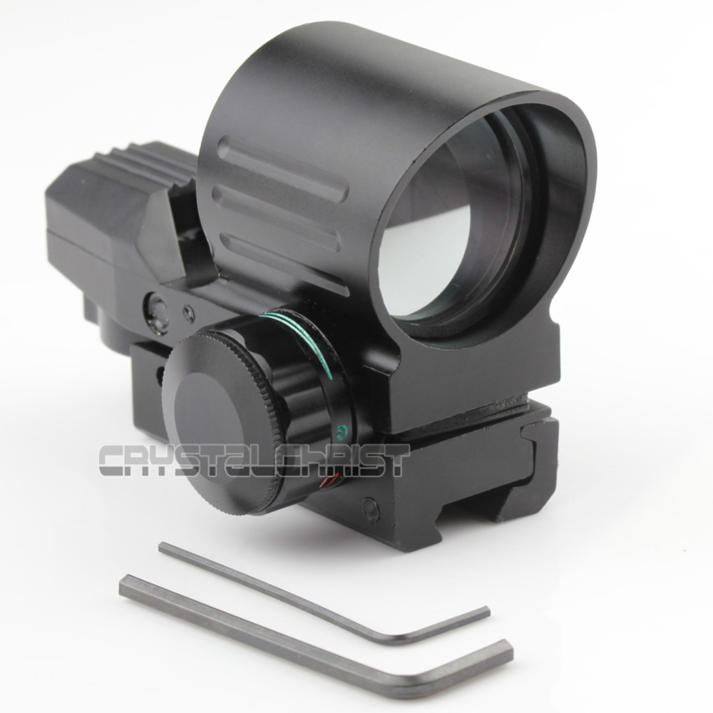 Hunting Tactical Holographic Scope 4 Type Reflex Red Green Dot Sight 11mm Rail Sight Holographic Reflex Hunting Scope