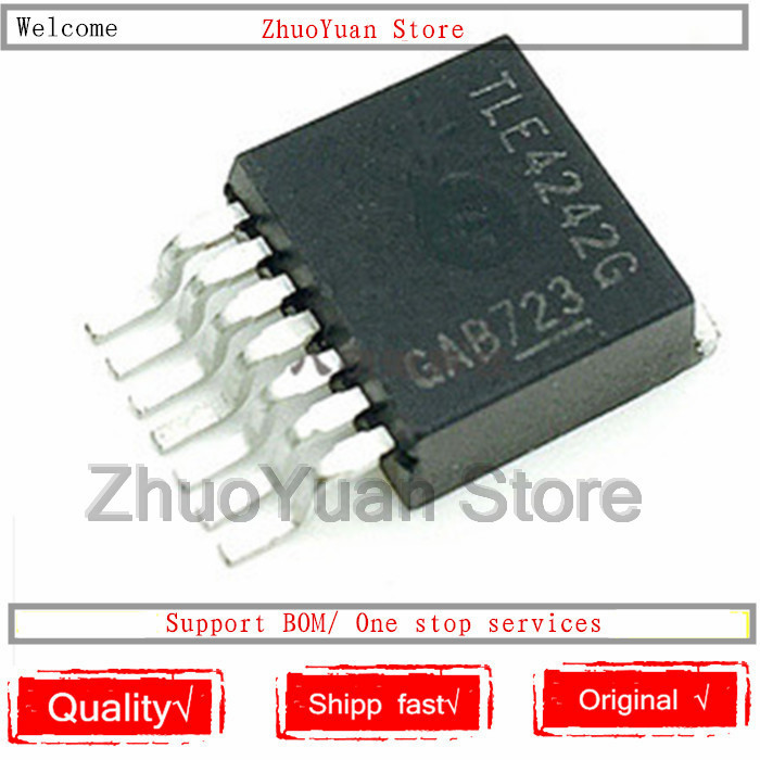 TLE4242G INFINEON TECHNOLOGIES TO263 TLE4242