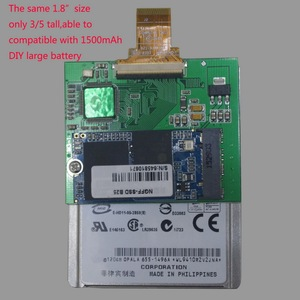 """Image 2 - Für iPod classic 128 GB 1,8 """"kurze SSD Chip mit fall ersatz für MK8022GAA MK1231GAL MK1634GAL und für iPod video"""