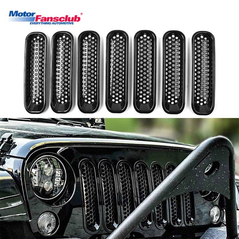 Textured Black for Jeep Wrangler JK 2007-2018 Redrock 4x4 Old Glory Fuel Door Cover
