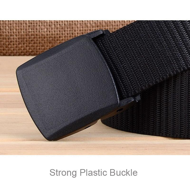Военный мужской ремень, армейские ремни, регулируемый ремень для мужчин, для улицы, для путешествий, тактический поясной ремень с пластиковой пряжкой для брюк 120 см