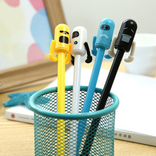 48pcs/lot korean creative Kawai gel pen unisex sign office school stationery boys gift prize