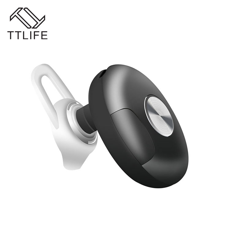 TTLIFE Wireless Bluetooth 4.1 Earphone Stereo CVC Noise Cancelling Headset Sweatproof Multipoint Pairing Headphone with Mic