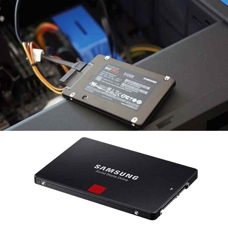Samsung 2TB SSD HDD da 2.5 pollici 256GB 512GB 1TB Sata3 3D MLC V-NAND 860 EVO Pro flash di Memoria a stato Solido drive Del Computer portatile SSD