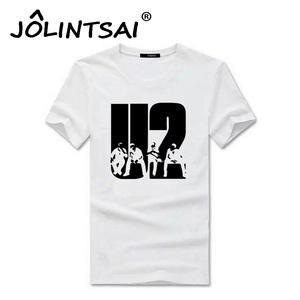 7fe2d442ba6 JOLINTSAI Summer T Shirt Cotton Tee Shirt Man T-Shirt