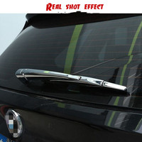 car stickers styling Rear glass wiper car stickers modification ABS chrome plating for bmw X5 2014 2018 decoration stickers