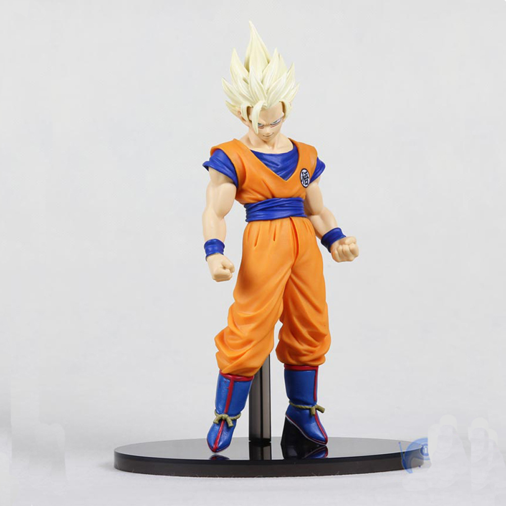 Anime Dragon Ball Z Son Gokou Action Figure Brinquedos DragonBall Goku Super Saiyan 2 Figures Model Toys Figuras DBZ Juguetes dragon ball gokou pvc action figures 15cm dragon ball z blue hair goku model doll figuras dragonball z dbz