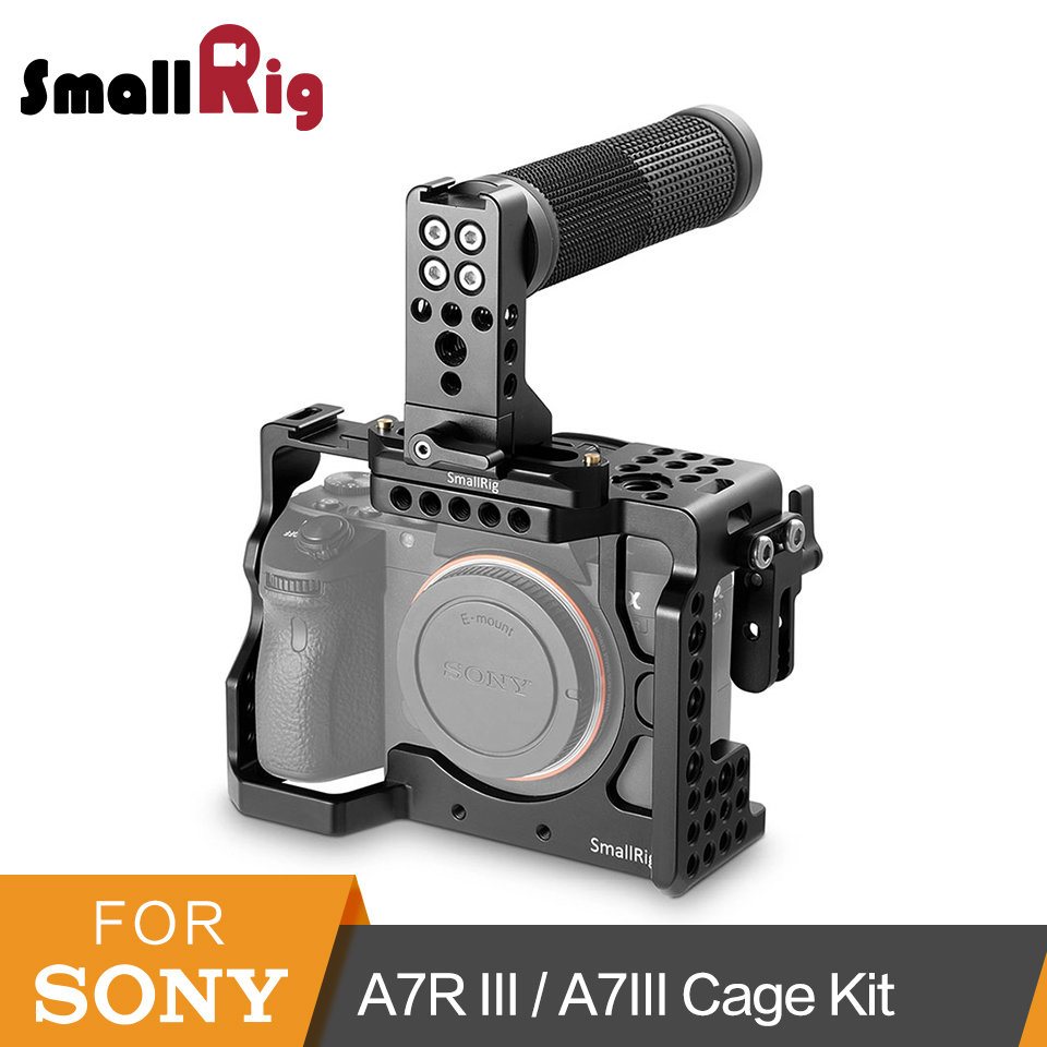SmallRig A7iii Cage Kit for Sony A7R III/A7III Camera With T