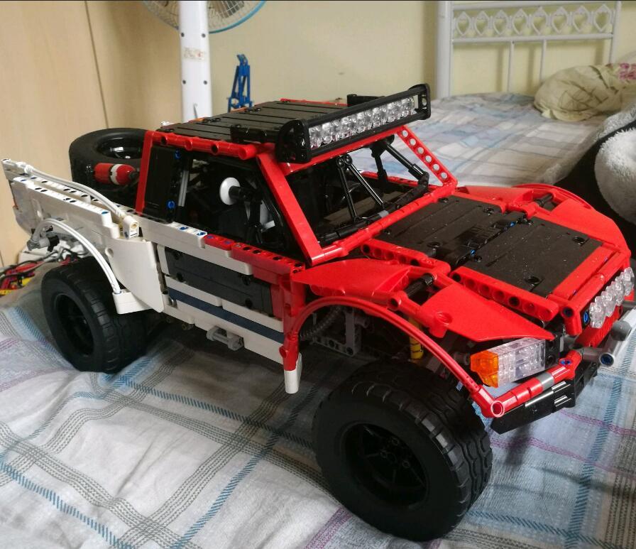 Véritable 2314 pièces Technic MOC série SUV voiture pick-up camion briques modèle kits de construction blocs jouets garçons cadeau
