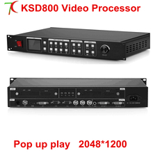 Video processor KSD800 pictuer-in-picture can be realized,  for led screen,2048*1200.