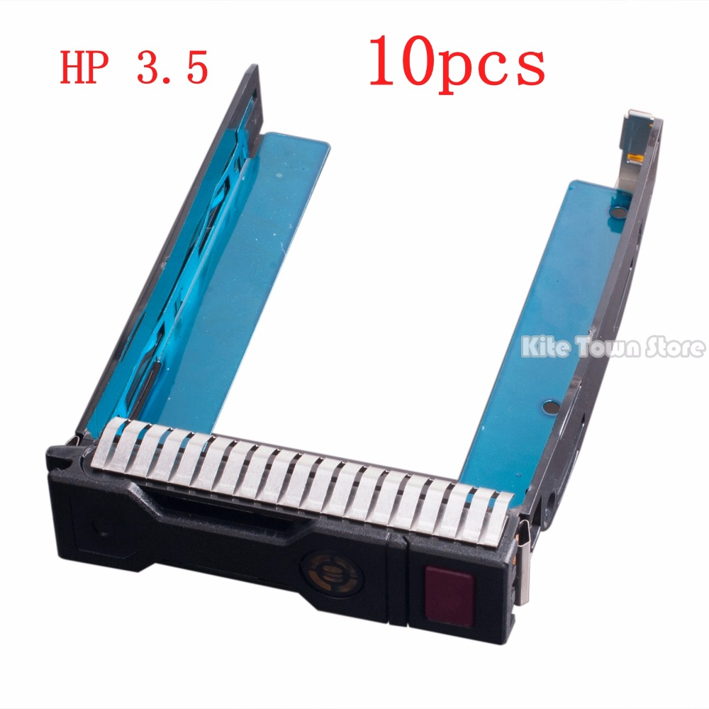 10 pcs New/Orig For HP ML350e ML310e SL250s Gen8 Gen9 G9 3.5 Drive Tray Caddy 651314-001 new high quality bracket tray caddy dustproof dust prevention for hp microserver gen8