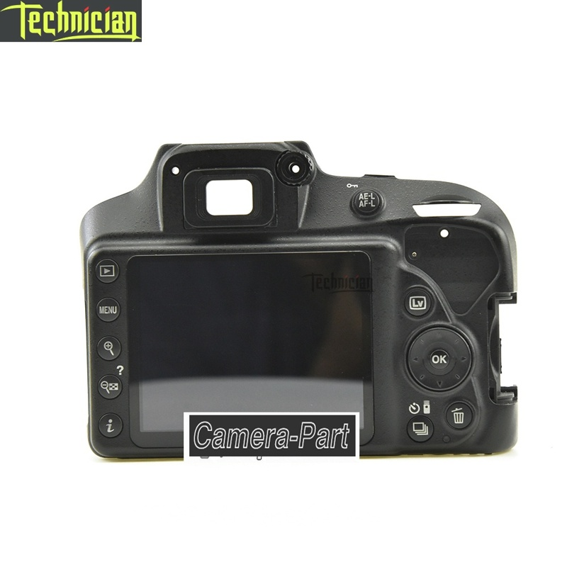 D3400 Hinten Zurück Abdeckung Mit LCD Und Schlüssel Taste Kamera Reparatur Teile Für Nikon
