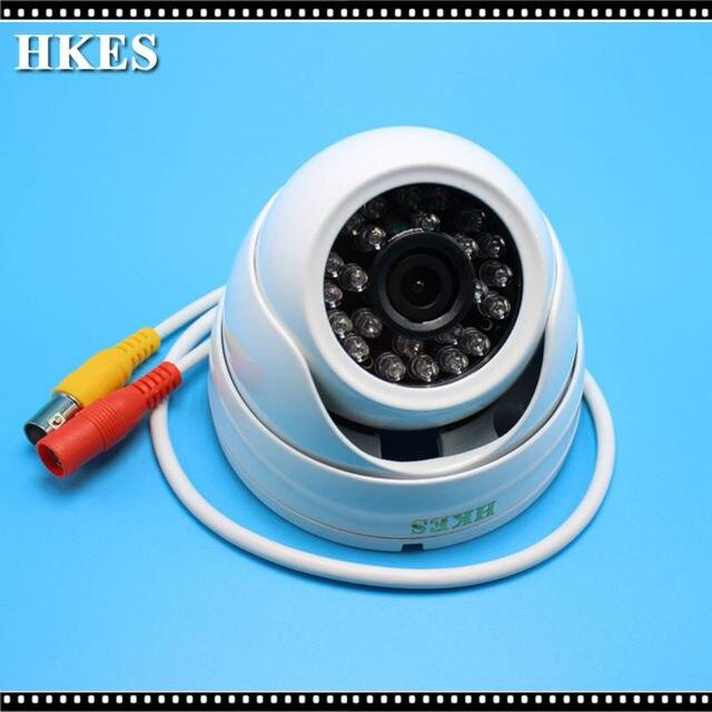 HKES CMOS 1080P CCTV Security AHD Camera 0.01 Lux 3.6mm Lens Analog HD 2000TVL Mini AHD Camera 2MP Metal Outdoor