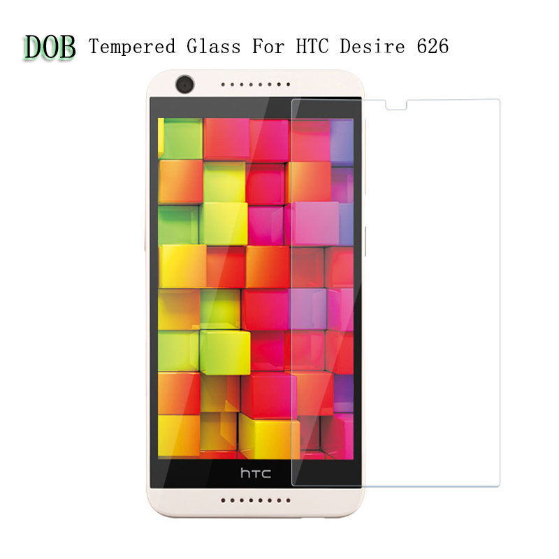 For HTC 626 Dual Sim Tempered Glass Film Case 2.5D 9H Safety Protective Screen Protector for HTC Desire 626 626s D626W 626G
