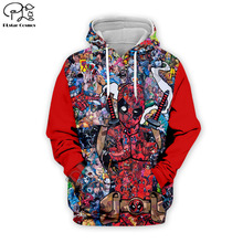PLstar Cosmos Deadpool 3D Printed Hoodie/Sweatshirt/Jacket/shirts Mens Womens hip hop apparel drop shipping