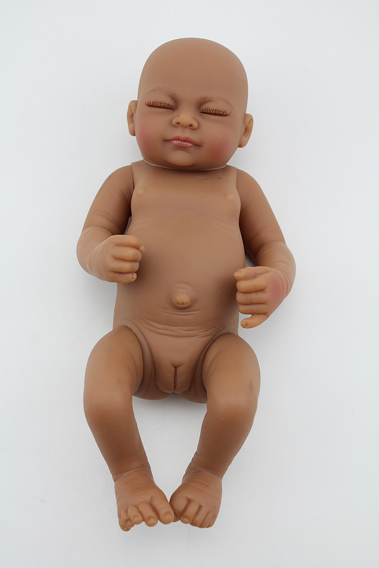 Full body silicone baby for sale 2015 - 12 Inches Full Body Silicone Reborn Baby Dolls For Sale Reborn Sleep Realistic Handmade Baby Girls With Clothes Accessories In Dolls From Toys Hobbies On