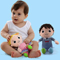 3M+ 20 cm Baby Plush toy happy Boys and girls doll toys brinquedos juguetes para bebes jouet gift cadeau