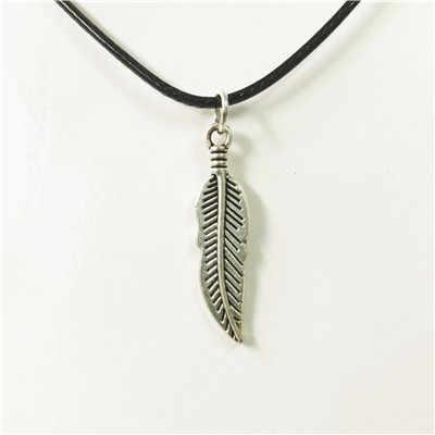 Gorąca Sales18 style skrzydła sowa czaszka fish butterfly bullet feather skórzany naszyjnik dla mężczyzn mężczyzna wisiorek – biżuteria prezenty hurtownie