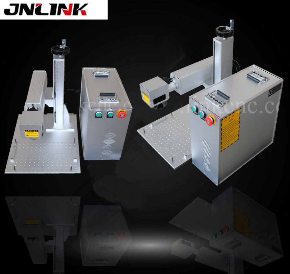 Homemade !!! fiber laser marking machine for metal,watches,camera,auto parts,buckles/portable laser marking machine machine