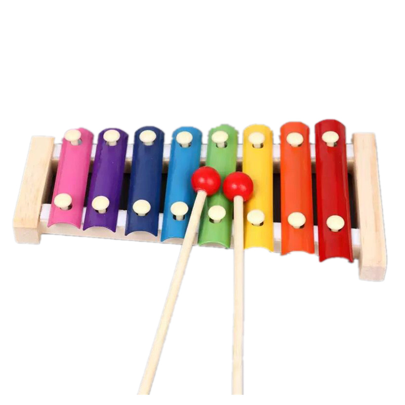 Baby Kid Musical Toys Xylophone Wisdom Development Wooden Instrument In US Stock