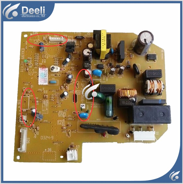 95% new good working for Daikin air conditioning board 2P084366-5 PCB board good working original used for power supply board led50r6680au kip l150e08c2 35018928 34011135