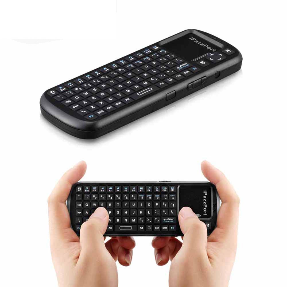 2.4G Mini Wireless Air Mouse and QWERTY Gaming Keyboard in Russia With TouchPad 3 in 1 C ...