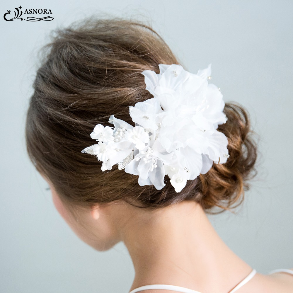 asnora graceful white handmade