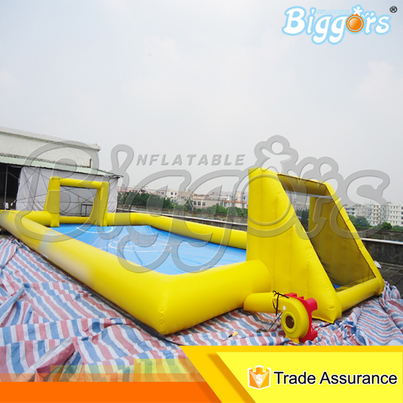 Popular Giant Inflatable Soap Water Soccer Field Pitch for Sale fabrecandy spring autumn men casual shoes 2017 classic breathable air mesh men shoes fashion men s flat unisex lover shoes01