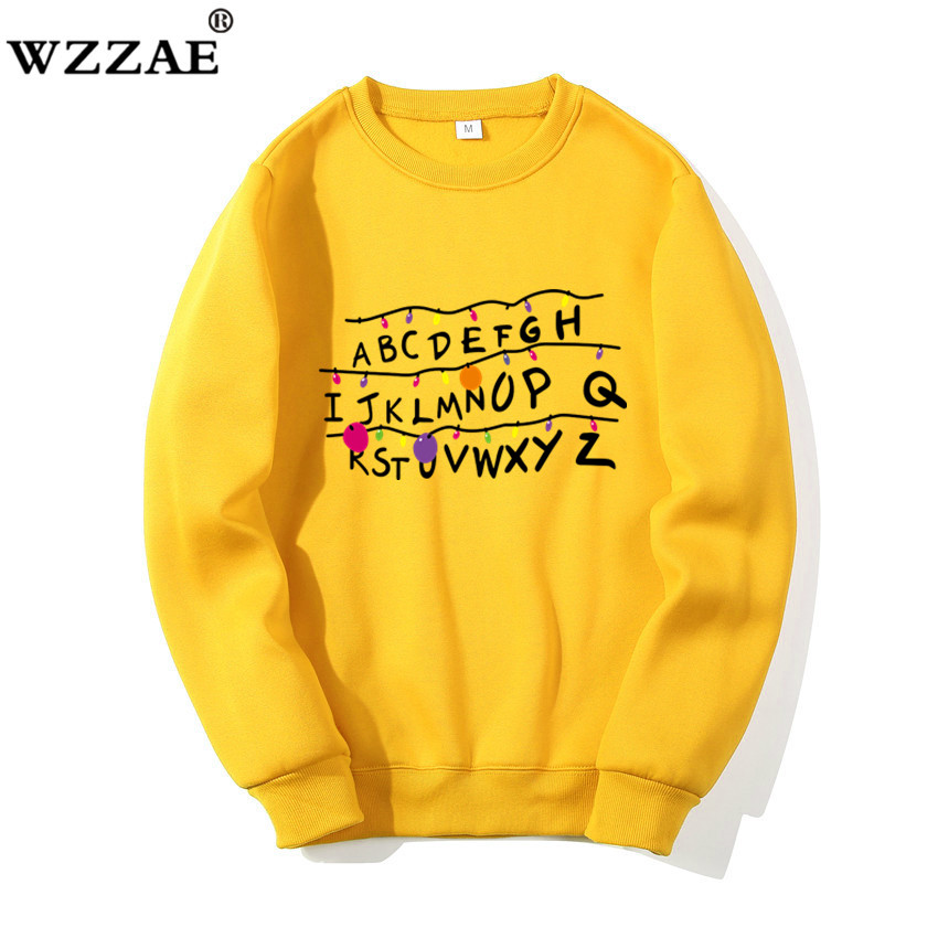 2019 Sweatshirts Women And Men Stranger Things Hoodies Sweatshirt Men Auturm Winter Hi Hop Hoodies Sweatshirt For Men Pullover