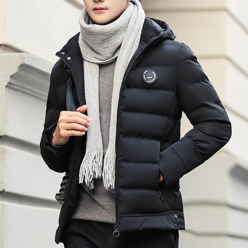 Men's Coat 2018 Hot Sell Warm Breathable Winter Cotton-padded   Parka   Coat Comfortable Plus 3 Colors Size 4XL MWM1898