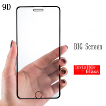 SHELI 9D Protective Glass for iPhone 7 Screen Protector 8 Xr Xs Max Tempered on X 6 6s Plus