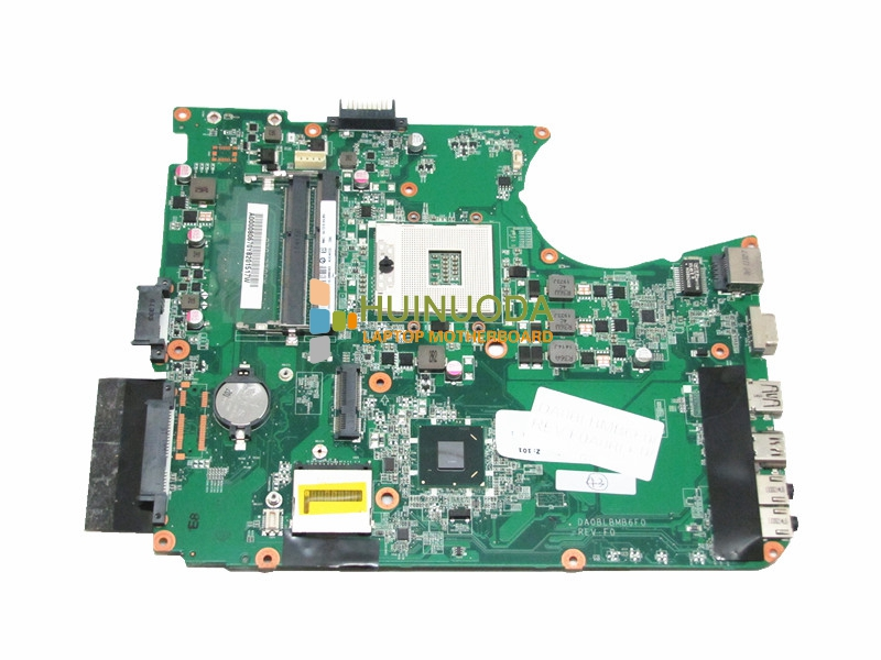 Original A000080670 DABLBMB16A0 Laptop Motherboard for Toshiba L755 series system board hm65 warranty 60 days