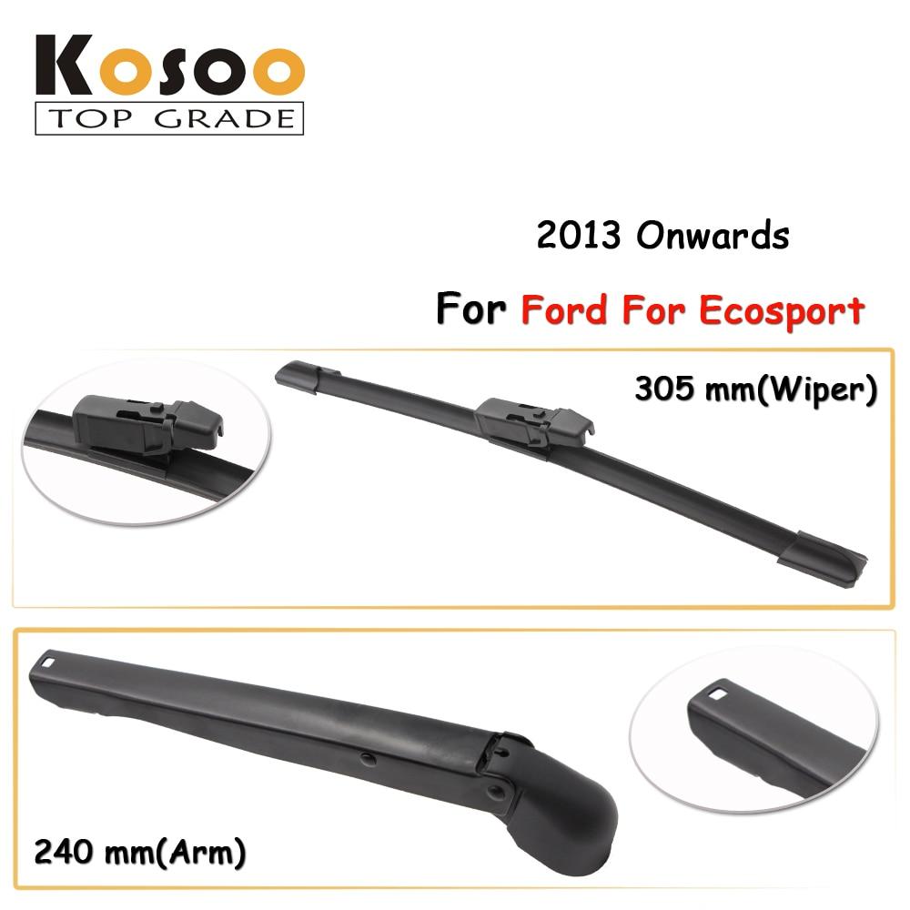 Kosoo auto rear car wiper blade for ford for ecosport 305mm 2013 onwards rear window