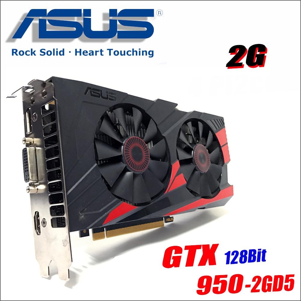 Usato ASUS Scheda grafica del PC Originale GTX 950 2 GB 128Bit GDDR5 Schede Video per nVIDIA SCHEDA VGA Geforce GTX950 hdmi Dvi giocoUsato ASUS Scheda grafica del PC Originale GTX 950 2 GB 128Bit GDDR5 Schede Video per nVIDIA SCHEDA VGA Geforce GTX950 hdmi Dvi gioco