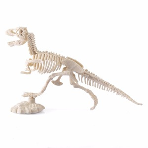Image 5 - 3D Glow In Dark Dinosaur Excavation Kit Science Digging DIY TOY For Boy Action Figure Kids Educational STEM Toys Type Random