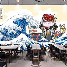 Custom 3D hand-painted Japanese background wall decoration wallpaper murals