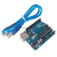 1 Piece UNO R3 MEGA328P ATMEGA16U2 Development Board For Arduino Compatible With USB Cable