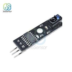 Image 3 - 10 Uds DC 5V infrarrojo IR Line Sensor rastreador Sensor de pista seguidor TCRT5000 evitación de obstáculos para Arduino AVR, ARM y PIC