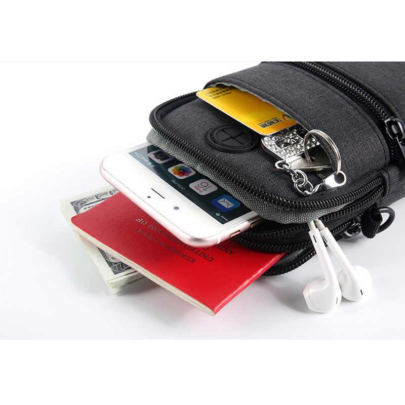 Bolsa de pasaporte con cuello colgante de Viaje Funda de pasaporte Cartera de almacenamiento de dinero bolsa de viaje multifunción Paquete de tarjeta de crédito