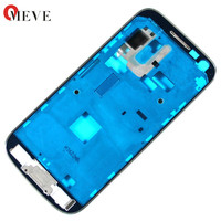 100pcs/lot New Front Housing Frame Bezel for Samsung Galaxy S4 mini GT I9195 i9190 Plate Middle Frame Faceplate