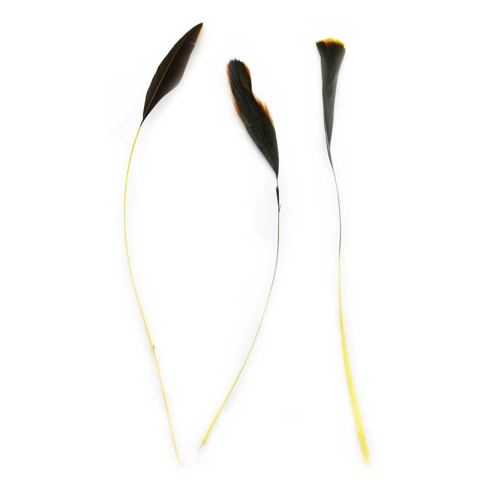 Giá Rẻ Đầy Màu Sắc 24 Chiếc Nhuộm Thổ Nhĩ Kỳ Lông Tóc DỰ TIỆC CƯỚI Hoa Trang Trí Lông Bán Chạy Dài 12-20cm IF10