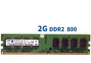 Image 5 - סמסונג 1GB 2GB שולחן העבודה DDR2 PC2 זיכרון 667 800 MHZ 667MHZ 800 MHZ מודול 1G 2G 5300 6400 RAM 5300U 6400U מחשב זיכרון