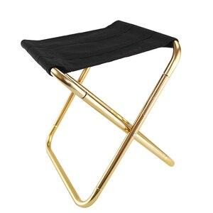 Image 5 - Hafif Oxford kumaş açık sandalye taşınabilir katlanır tabure kamp katlanabilir piknik sandalye çantası 7075 alüminyum katlanır tabure
