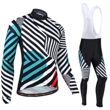 Jersey-Suit Cycling-Clothing Bike Geometric Long-Sleeve Pro-Team Ropa-Ciclismo Winter