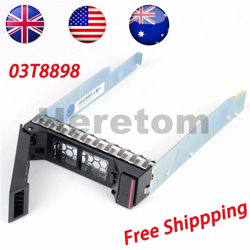 Heretom UK/US/AU Shipping 03T8898-001 3.5 SAS/SATA Drive Caddy Tray For Lenovo RD650 RD550 RD450 RD350 TD450 TD350