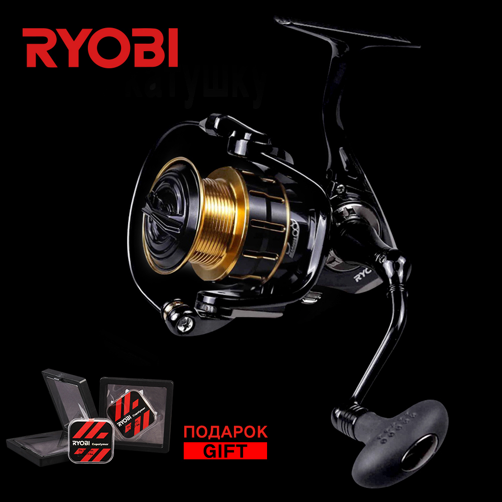 RYOBI Maturity 1000/2000/3000/4000 100% Original Full Metal Saltwater 5BB 11LB Far Casting Light Weight Ocean Big Spinning Reels