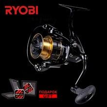 RYOBI Maturity 1000/2000/3000/4000 100% Original Full Metal Saltwater 5BB 11LB Far Casting Light Weight Ocean Big Spinning Reels