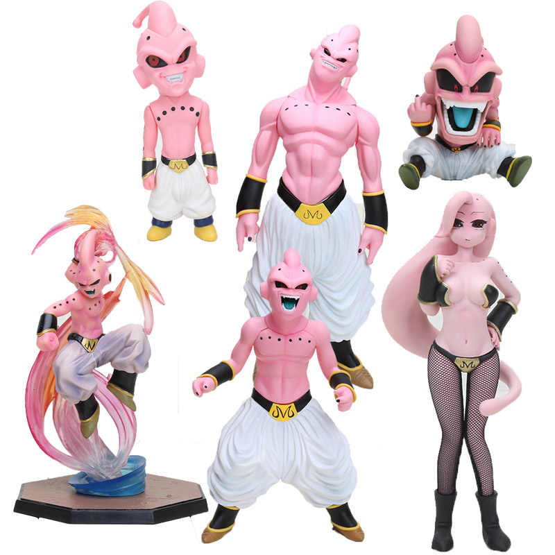 Anime Dragon Ball Z super saiyan Buu Majin Boo menina mal Dragonball Buu PVC Action Figure Collectible Modelo toy