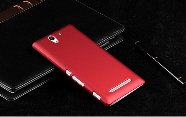 Plastic Matte Phone Housing for Sony Xperia
